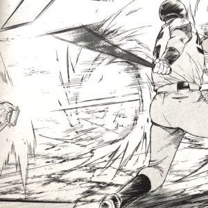 剛速球でシルヴァを三振に取る